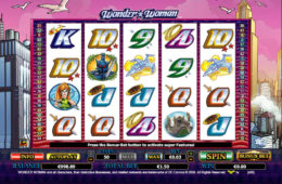 Automat do gier Wonder Woman