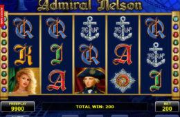 Darmowa maszyna Admiral Nelson, nie wymaga depozytu