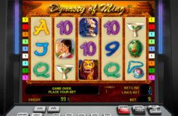 Gra hazardowa Dynasty of Ming nie wymagająca rejestracji