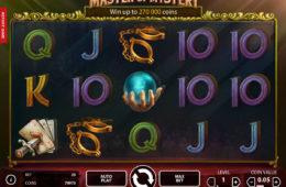Kręć bębnami automatu Fantasini: Master of Mystery