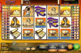 Darmowa maszyna Fortunes of Egypt bez depozytu