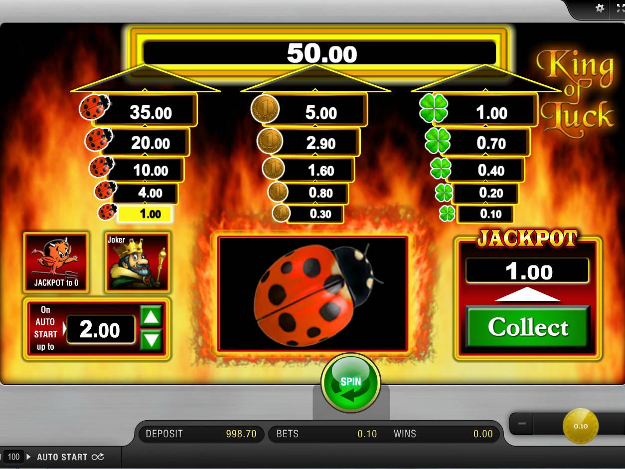 King Of Luck App