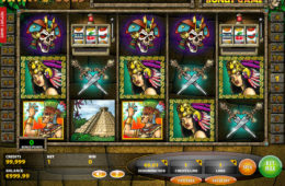 Kręć bębnami maszyny do gier Maya Gold