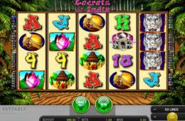 Gra hazardowa Secrets of India online, nie wymaga rejestracji