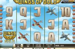 Obrazek z gry hazardowej Wings of Gold