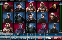 Obrazek z maszyny do gier online X-Men 50 Lines
