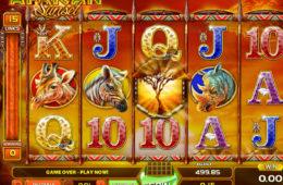Obrazek z gry hazardowej African Sunset