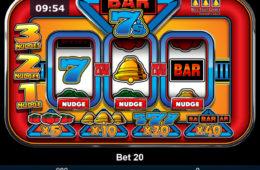 Maszyna do gier Bar 7's bez depozytów