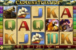 Gra hazardowa bez depozytu Captain's Tresure Pro od Playtech