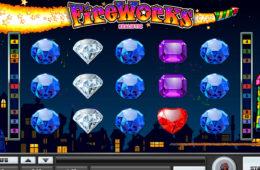 Darmowa maszyna do gier online Fireworks - bez depozytu