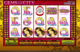 Darmowy slot online Gems and the City