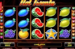 Darmowa gra hazardowa Hot Twenty online