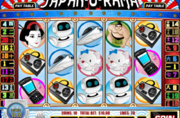 Obrazek z gry hazardowej Japan-O-Rama online