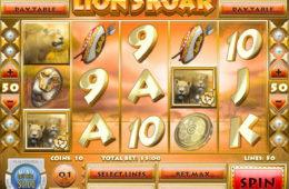 Obrazek z automatu do gier Lion's Roar