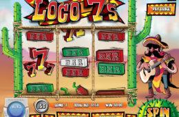 Maszyna do gier Loco 7's bez depozytu