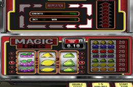 Kręć bębnami darmowej maszyny online Magic Lines