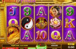 Niewymagająca rejestracji maszyna online do gier Phoenix Princess