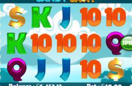 Niewymagająca depozytu maszyna do gier Candy Cash