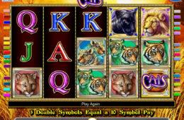 Zagraj na darmowym automacie Cats
