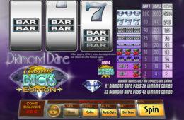 Darmowy automat do gier Diamond Dare: Bonus Bucks