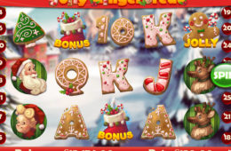 Zagraj na maszynie do gier Jolly Gingerbread