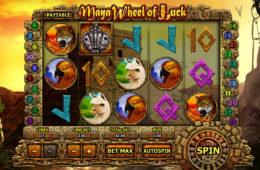 Automat online Maya Wheel of Luck