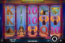 Niewymagający depozytu automat do gier New Tales of Egypt