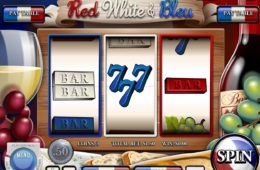 Darmowy automat do gier online Red, White and Bleu