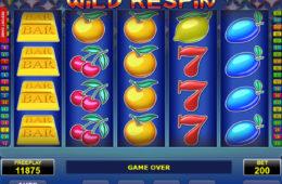 Maszyna online Wild Respin bez depozytu