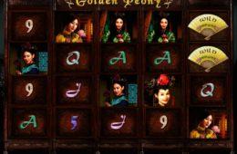 Zakręć darmowymi bębnami automatu do gier Golden Peony