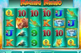 Automat do gier bez depozytu Raging Rhino