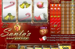 Gra hazardowa online bez depozytu Santa's Surprize