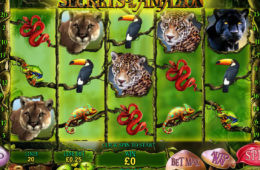 Secrets of the Amazon darmowy automat do gier