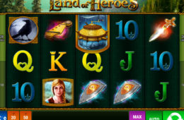 Automat do gier online The Land of Heroes