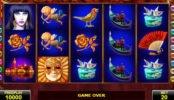 Obrazek z internetowej maszyny do gier Casanova