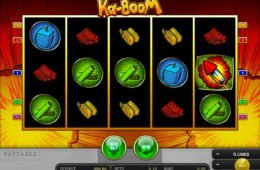 Zakręć bębnami automatu Ka-Boom od Merkur