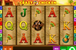 Automat online Book of Crazy Chicken