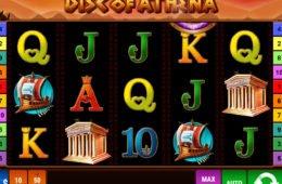 Automat online Disc of Athena niewymagający ściągania