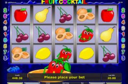 Automat Fruit Cocktail online