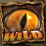 Symbol wild w grze online na automacie Dawn of the Dinosaurs