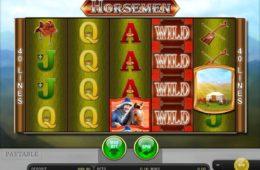 Zdjęcie z gry kasynowej na automaty Horsemen