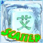 Symbol scatter w automacie do gier online Ice Dice