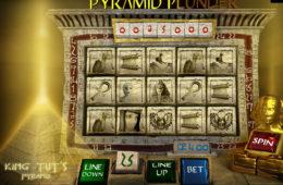 Zdjęcie z automatu do gier internetowych Pyramid Plunder