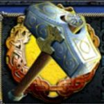 Symbol scatter w grze na automacie online Thor's Hammer