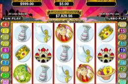 Maszyna do kasynowych gier internetowych Aladdin's Wishes
