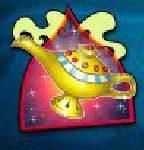 Symbol scatter w grze kasynowej online na automacie Aladdin's Wishes