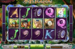 Maszyna z grami kasynowymi dla zabawy online Alice in Wonderland