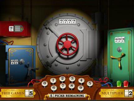 Gra bonusowa w automacie do gier online Cash Bandits