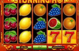 Gra kasynowa online na automacie firmy BeeFee Stunning Hot