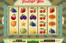Automat do gier online bez depozytu Vintage Win